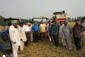 FARMERS APPRISED ABOUT INSITU MANAGEMENT OF PADDY STRAW