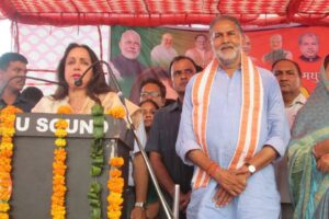 कांग्रेस ने हमेशा झूठ और फरेब की राजनीति की है: हेमामालिनी