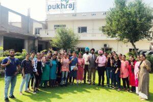 KMV Organizes an Educational Trip to Pukhraj Organics