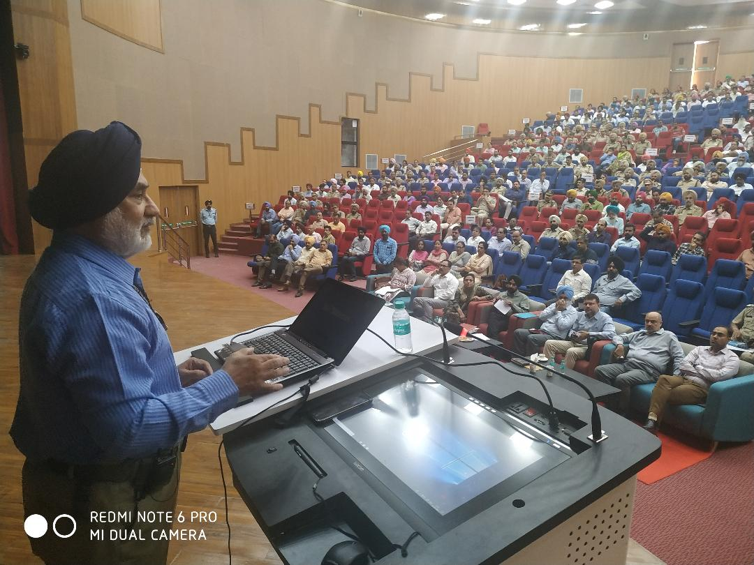 NDMA provides crisis Management training to officials deployed for 550th Gurpurab celebrations