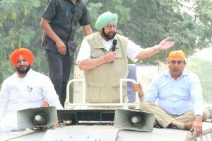 मुख्यमंत्री ने पानी के मुद्दे पर सुखबीर को घेरा