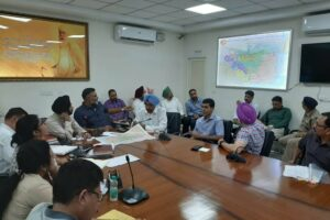 550th Parkash Purab  :IG and Deputy commissioner chalks out a comprehensive plan for crisis management and deployment of officials
