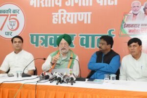 Haryana is the state that with fastest growth in last five years, Hardip Puri