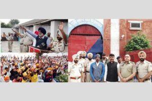 Two prisoners released from jail on Guru Nanak Dev's 550th Parkash Utsav, 34 prisoners baptized