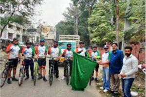 Bike Rally flagged off from Ferozepur to mark 550th birth Anniversary of Guru Nanak Dev
