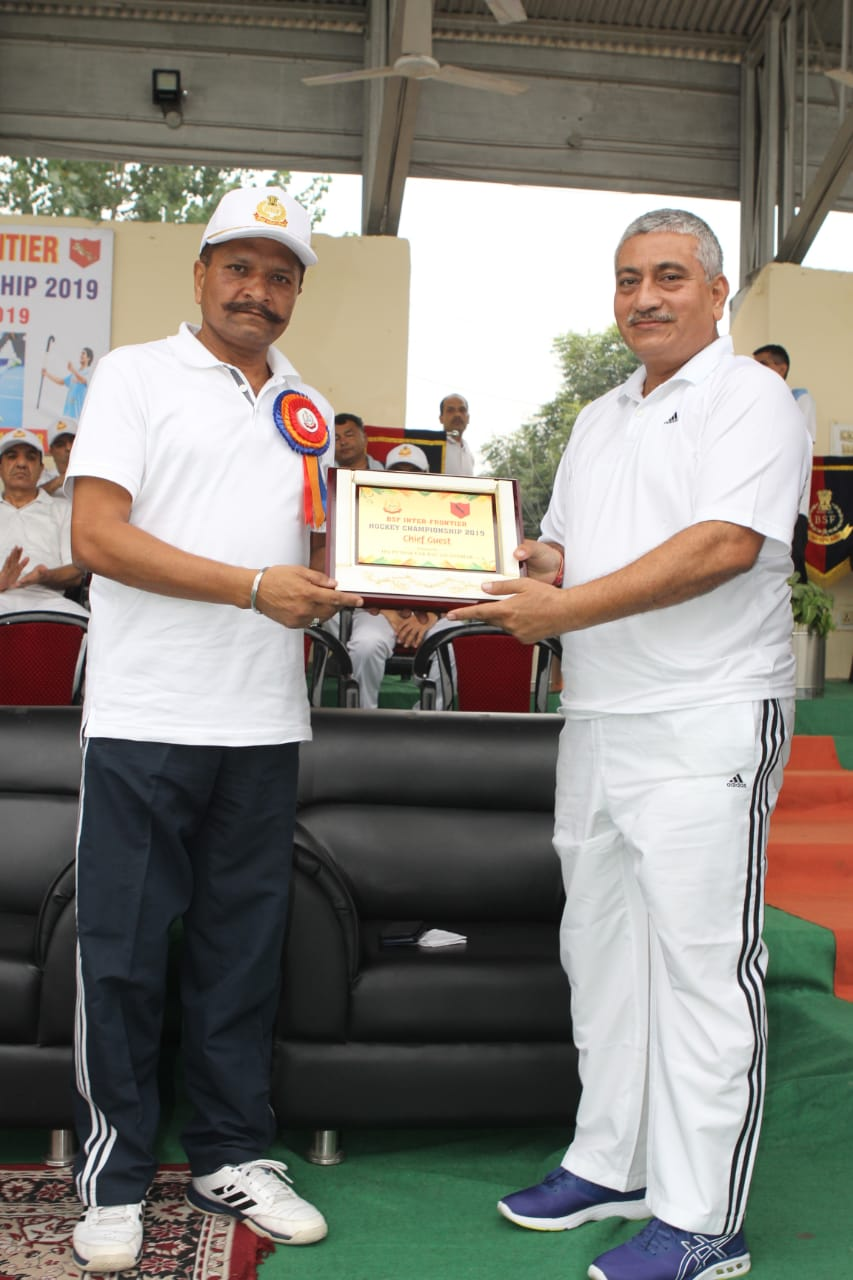 BSF INTER FRONTIER HOCKEY COMPETITION -2019