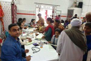 शहीद बाबू लाभ सिंह नगर में निशुल्क मेडीकल चैकअप कैंप आयोजित, 155 मरीजों की हुई जांच