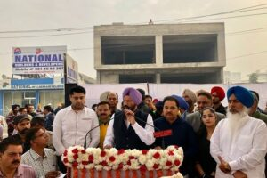 State level cycle rally flagged off for Dera Baba Nanak by Sports Minister Rana Gurmit Singh Sodhi