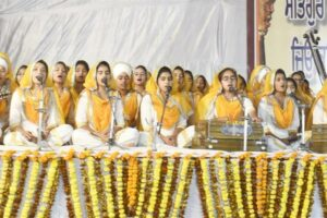 Kirtan Darbar Depicting Guru Nanak's Philosophy Organized at Khalsa College