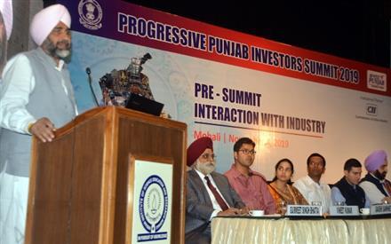 Punjab puts complete end to Inspector Raj, successful in bringing 50,000 Crore investment: Manpreet Badal
