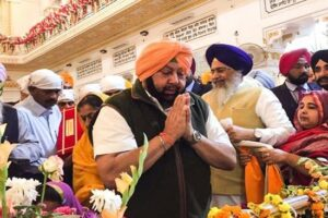 Punjab CM Capt Amarinder Singh decides to  urge Modi to prevail upon Pak to open all historic gurdwaras