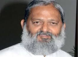 Haryana Home Minister, Anil Vij  issues suspend female sub-inspector Nirmala on  surprise inspection