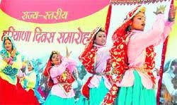 Haryana Governor, Satyadeo Narain Arya celebrates Haryana Day