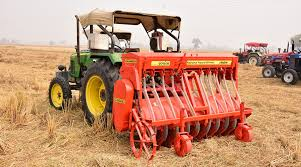 Zero Tillage Drill Techniligy for  sowing wheat gains popularity in Jalandhar