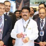 Dharmendra Pradhan inaugurates the India Pavilion at the ADIPEC