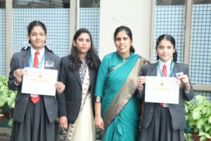Innocentitesoutshone inSahodya Inter School Rangoli Competition