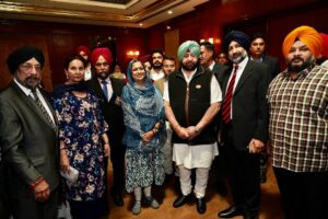 CAPT AMARINDER ASSURES PUNJABI DIASPORA TO EXPLORE SETTING UP OF SPECIAL COURTS TO SPEED UP CASES OF POs SETTLED ABROAD