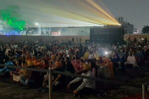 SULTANPUR LODHI WITNESSES SEA OF PILGRIMS AT LIGHT & SOUND SHOW
