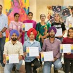 Apeejay College of Fine Arts organised Essay writing and Poetry Recitation competition