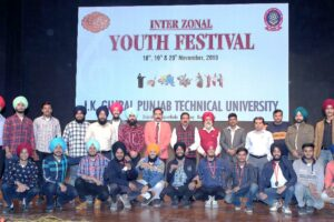 Youth Festivals always encourage students to move ahead with energy, enthusiasm and victory: VC Prof. (Dr.) Ajay Sharma