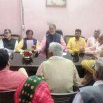 महेन्द्रगढ़ विस की हार के कारणों को लेकर समीक्ष बैठक का आयोजन