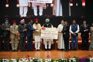 CAPT AMARINDER HONOURS OVER 400 EMINENT PERSONALITIES WITH ACHIEVERS AWARD AS A PART OF 550th PRAKASH PURB OF SRI GURU NANAK DEV JI