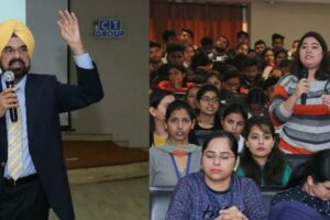 Kanwar Sandhu speaks on youth, society and politics at CT Group