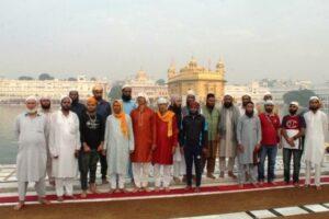 Army conducts Religious Harmony Tour for  Religious teachers from J&K under theme 'Ek Kadam Aman Ki Aur'