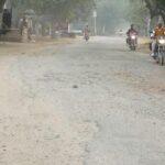 नारनौल-कनीना की तरफ जाने वाले मार्ग की भोजावास टी प्वांइट तक हालत खस्ता