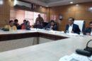 डीसी ने शहरों में सीवरेज व सफाई व्यवस्था के संबंध में ली अधिकारियों की बैठक