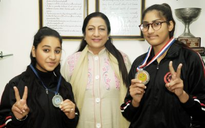 KMVites Bag Medal in Ek Bharat Sreshth Bharat Sqay Martial Art North Zone Championship