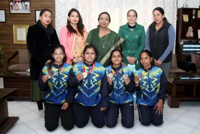 HMV Players won medals in National & State Level Competition
