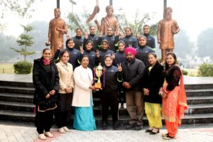 HMV won GNDU Weight Lifting Inter College Championship