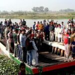 MLA Pinki hands over 7 floating rafts and boats to people living on bank of river Satluj
