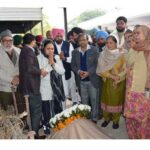 Renowned senior journalist Shangara Singh Bhullar cremated