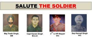 फतेहपुर पलटन के शहीद जवानों को श्रधांजलि