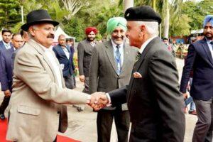 V.P.Singh Badnore,Pb.Governor inaugurates 3rd edition of annual Military Literature Festival