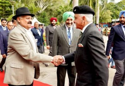 V.P.Singh Badnore,Pb.Governor inaugurates 3rd edition of annual Military Literature Festival