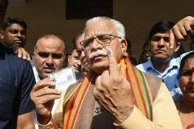 "Haryana decides to observe theyear 2020 as""Susashan Sankalp Varsh"", Manohar Lal"
