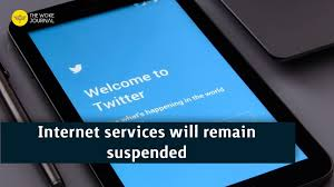 Internet services will remain suspended in the Rajasthan