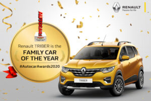 Renault Triber is the family Car of the year