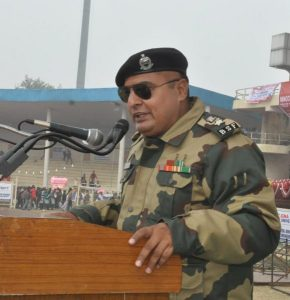 BSF SECOND IN-COMMAND MANMOHAN SINGH RANDHAWA THROWS LIGHT ON JOB OPPORTUNITIES IN BSF