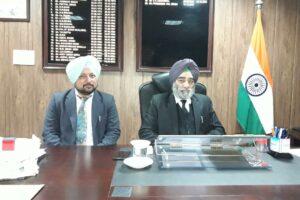 ज़िला कानूनी सेवाएं अथारटी की तरफ से14दिसंबर को लगाई जायेगी नेशनल लोक अदालत - परमिन्दरपाल सिंह