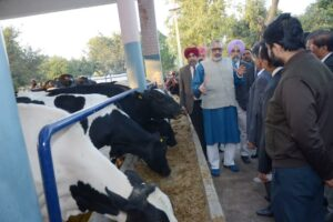Union Cabinet Minister applauds Vet Varsity for its role in the upliftment of livestock farmers