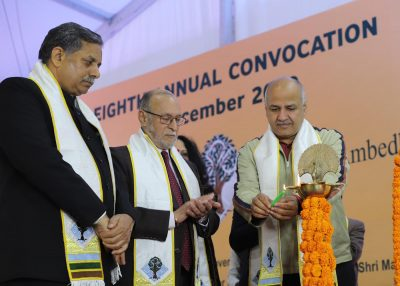 Ambedkar University has contributed significantly towards the growth and development of the nation: Dy CM, Manish Sisodia
