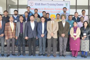 "ICAR Training Course on ""Advances in Epidemiology"" at Vet Varsity"