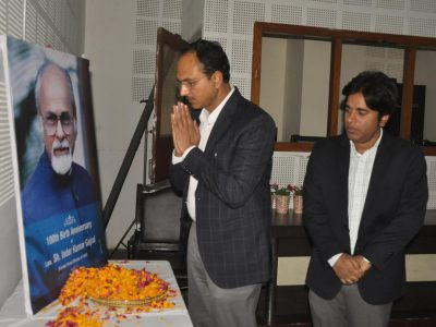 DC joins distinguished people from all walks of life to remember former PM Gujral on his 100th birth anniversary