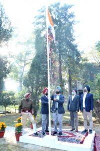 Guru Nanak Dev University Celebrates 71st Republic Day