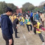 GNDU organized Inter-Department Tug of War Competition