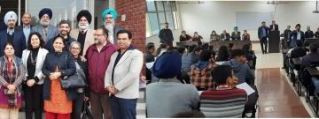 Alumnus guided MBA Students of GNDU